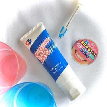 薬用ホワイトニング デンタクリーン/シーヴァ/歯磨き粉を使ったクチコミ(1枚目)