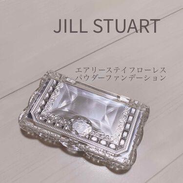 エアリーステイフローレス パウダーファンデーション/JILL STUART/パウダーファンデーションを使ったクチコミ(1枚目)