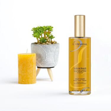 🧡💛New arrival💛🧡   このたびアンブリオリスから全身に使える、マルチな美容オイルが登場いたしました。  2020年9月4日(金)新発売 「アンブリオリス ビューティ―オイル」 ¥3,500+税 https://www.embryolisse.co.jp/c/bodycare/beauty-oil 顔・体・髪に、全身に使える美容オイル。 アンズ核油、ザクロ種子油、シア脂エキスとレモン果実エキスの4種の植物成分を配合し、肌や髪を保湿してやわらかくなめらかに整えます。べたつきにくく肌なじみの良いオイルで、サテンのようなツヤ感のあるお肌に仕上がります。 香りはほのかに甘いフローラルのかおり💐   \ポイント/ 更に乾燥が気になる場合はモイスチャークリームなどと混ぜて使用することもできます!   そして発売を記念いたしまして、「アンブリオリス ビューティ―オイル」をお買い上げの方に《ポイント2倍》プレゼント!  期間は 2020年9月18日10:00  まで  ※ビューティーオイル購入金額に対するポイントが対象となります。   夏の終わりから取り入れたいオイルケア。 べたつかない美容オイルを肌で実感しませんか?   ぜひチェックしてみてくださいね🥰