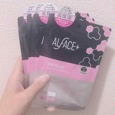 苺恋さんの「ALFACE+(オルフェス)ディープブラック アクアモイスチャー シートマスク<シートマスク・パック>」を含むクチコミ