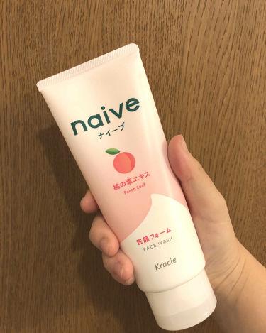洗顔フォーム(桃の葉エキス配合)/ナイーブ/洗顔フォームを使ったクチコミ(2枚目)