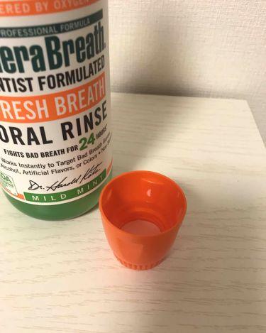 Fresh Breath  Oral Rinse/その他/マウスウォッシュ・スプレーを使ったクチコミ(2枚目)