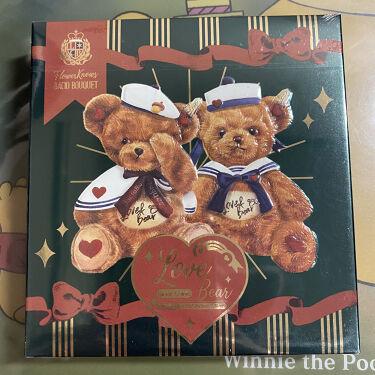 Love Bear 9色 アイシャドウパレット/FlowerKnows/パウダーアイシャドウを使ったクチコミ(2枚目)