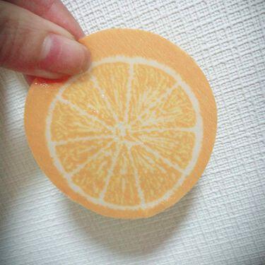 ジューシーフルーツ ポイントパッド オレンジ/Pure Smile/レッグ・フットケアを使ったクチコミ(3枚目)