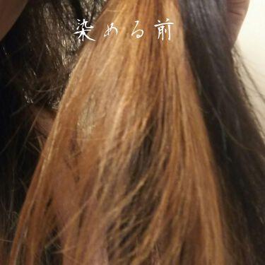 カラーコート デコレ/イリヤ コスメティクス/ヘアカラー・白髪染め・ブリーチを使ったクチコミ(3枚目)