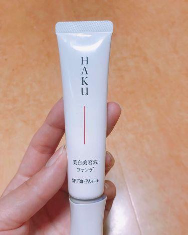 薬用 美白美容液ファンデ/HAKU/クリーム・エマルジョンファンデーションを使ったクチコミ(1枚目)