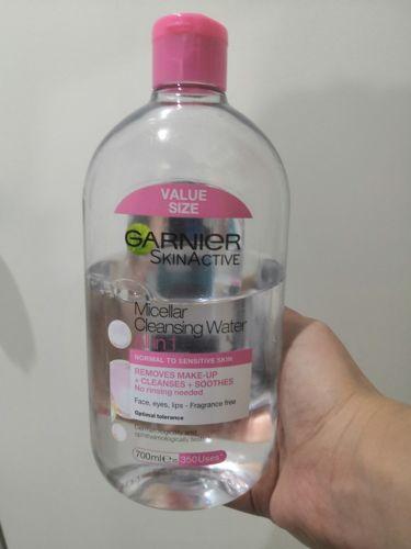 Micellar Cleansing Water/GARNIER SKIN NATURALS (海外)/リキッドクレンジングを使ったクチコミ(1枚目)