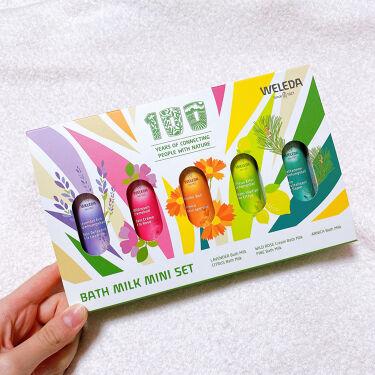 バスミルク ミニセット/WELEDA/その他キットセットを使ったクチコミ(3枚目)