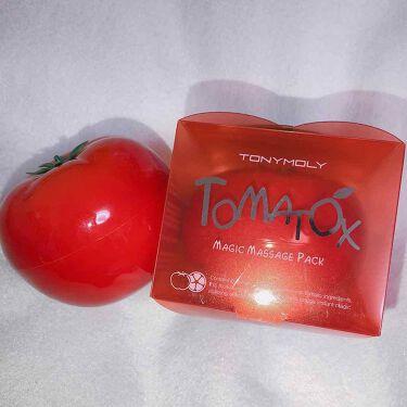 웬디/ウェンディ💕さんの「TONYMOLY(トニーモリー/韓国)トマトックス マジックホワイトマッサージパック 80g<洗い流すパック・マスク>」を含むクチコミ