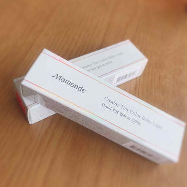 クリーミーリップティント カラーバーム/Mamonde(マモンド/韓国)/リップライナーを使ったクチコミ(3枚目)