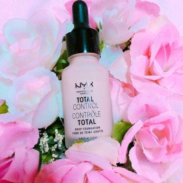 TTLコントロール DP ファンデーション/NYX Professional Makeup/リキッドファンデーションを使ったクチコミ(1枚目)