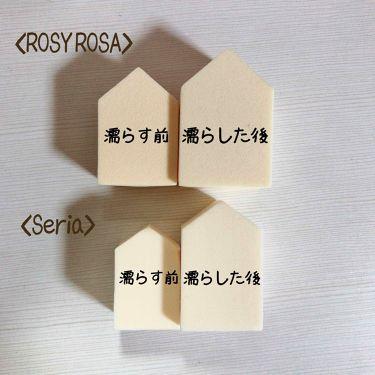 ジェリータッチスポンジ ハウス 6P/ロージーローザ/パフ・スポンジを使ったクチコミ(2枚目)