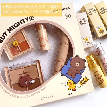LINE FRIENDS EDITION/rom&nd/メイクアップキットを使ったクチコミ(2枚目)