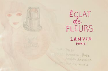 エクラ・ドゥ・フルール オードパルファム/LANVIN/香水(レディース)を使ったクチコミ(2枚目)
