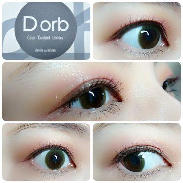 Dorb マンスリー/Dorb/カラーコンタクトレンズを使ったクチコミ(1枚目)