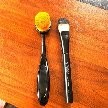 歯ブラシ型ブラシ/セリア/その他化粧小物を使ったクチコミ(2枚目)