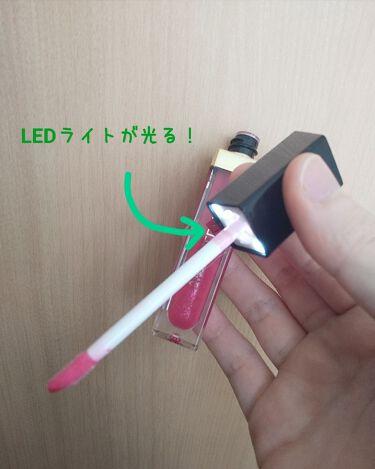 ライトアップリップグロス カラー:ピンクグレープフルーツ/アーティストリー/リップグロスを使ったクチコミ(3枚目)
