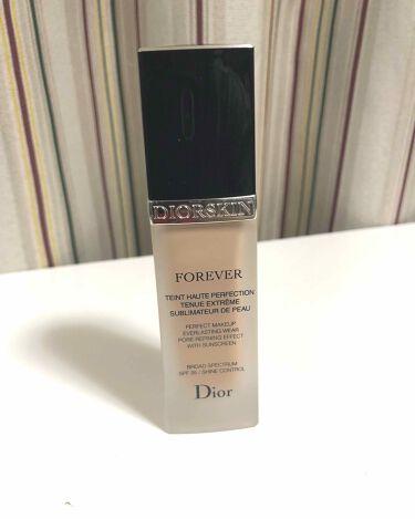 ディオールスキン フォーエヴァー フルイド/Dior/リキッドファンデーションを使ったクチコミ(1枚目)