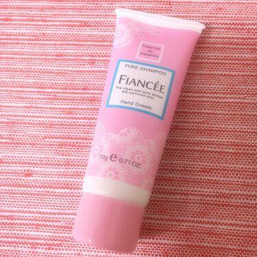 となりのりんちゃんさんの「フィアンセハンドクリーム ピュアシャンプーの香り<ハンドクリーム・ケア>」を含むクチコミ