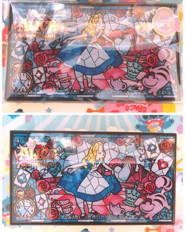 ITS'DEMO限定 ディズニーデザインマルチパレット クールカラーコレクション/IT'S DEMO/パウダーアイシャドウを使ったクチコミ(1枚目)