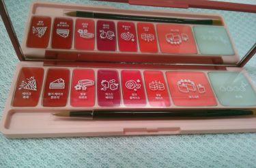 プレイカラーリップ&チーク/ETUDE HOUSE/口紅を使ったクチコミ(3枚目)
