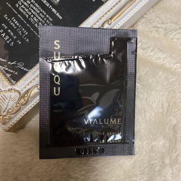 【画像付きクチコミ】SUQQUヴィアルムザセラムSUQQUの最高級化粧品。試供品頂きました。使用感お伝え出来れば💕と思います。珍しい美容液先行型タイプです。トロっとした美容液。塗った瞬間、いい香りに癒される(⁎ᵕᴗᵕ⁎)♡あっという間にお肌の中に入ってい...