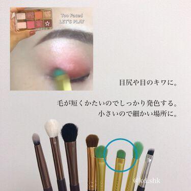SIXPLUS 限定版 魅力のコーヒー色メイクブラシ15本セット/SIXPLUS/メイクブラシを使ったクチコミ(6枚目)
