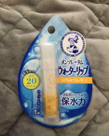 ウォーターリップ はちみつレモン/メンソレータム/リップケア・リップクリームを使ったクチコミ(1枚目)