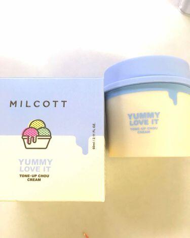 トーンアップシュークリーム/ミルコット/その他スキンケアを使ったクチコミ(1枚目)