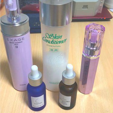 ゆーこさんの「アルビオン薬用スキンコンディショナー エッセンシャル<化粧水>」を含むクチコミ