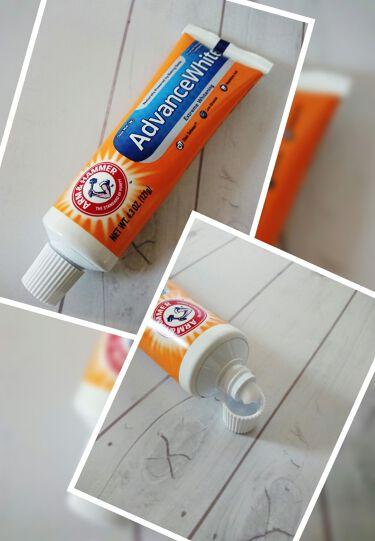 AdvanceWhite/Arm & Hammer/歯磨き粉を使ったクチコミ(2枚目)