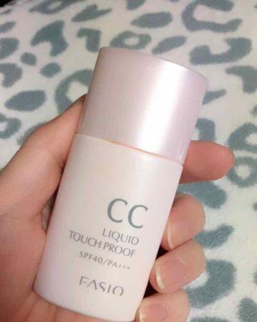 CC リキッド タッチプルーフ/FASIO/化粧下地を使ったクチコミ(1枚目)