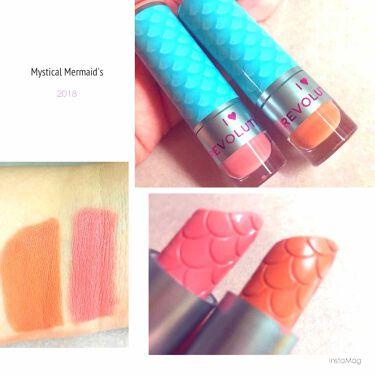 MAKEUP REVOLUTION(メイクアップレボリューション)/アイラブメイクアップ I Heart Revolution Mystical Mermaids Lipstick