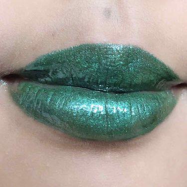 Studded Kiss Creme Lipstick/Kat Von D/口紅を使ったクチコミ(2枚目)