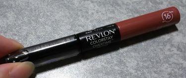 カラーステイ オーバータイム リップカラー/REVLON/リップグロスを使ったクチコミ(1枚目)