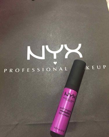 ソフト マット リップクリーム/NYX Professional Makeup/口紅を使ったクチコミ(1枚目)