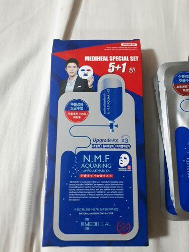 N.M.FアクアアンプルマスクJEX/MEDIHEAL/シートマスク・パックを使ったクチコミ(2枚目)