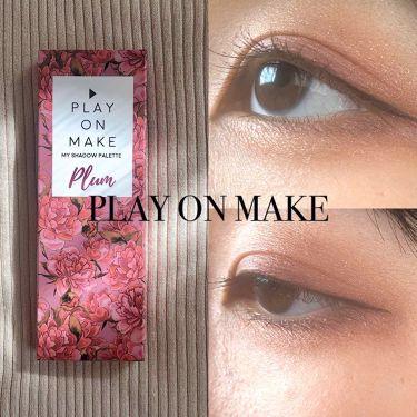 マイシャドウパレット/play on make/パウダーアイシャドウ by Hina