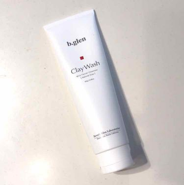 クレイウォッシュ/b.glen/洗顔フォームを使ったクチコミ(1枚目)