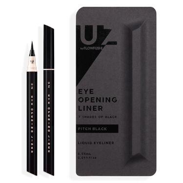 UZU EYE OPENING LINER 7 SHADES OF BLACK PITCH-BLACK