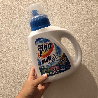 【画像付きクチコミ】【8月👙🍦#使い切りコスメ③】.✔︎カウブランド無添加泡の洗顔料.#とりちゃん無限リピートシリーズたまにはボトルも買い換えないと!っと思ったので、こちらも使い切りと同時にサヨウナラ👋🏻.✔︎アタック抗菌EXスーパークリアジェル.爽やか...
