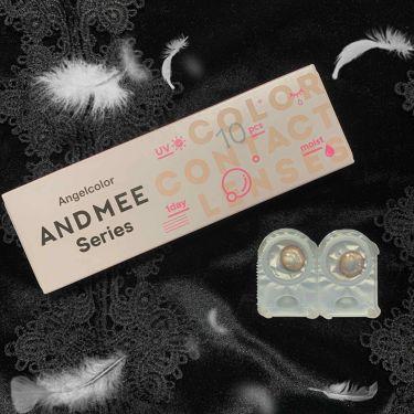 AND MEE 1day/AngelColor/カラーコンタクトレンズを使ったクチコミ(2枚目)