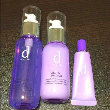 バイタルアクト ローション W I/d プログラム/化粧水を使ったクチコミ(1枚目)