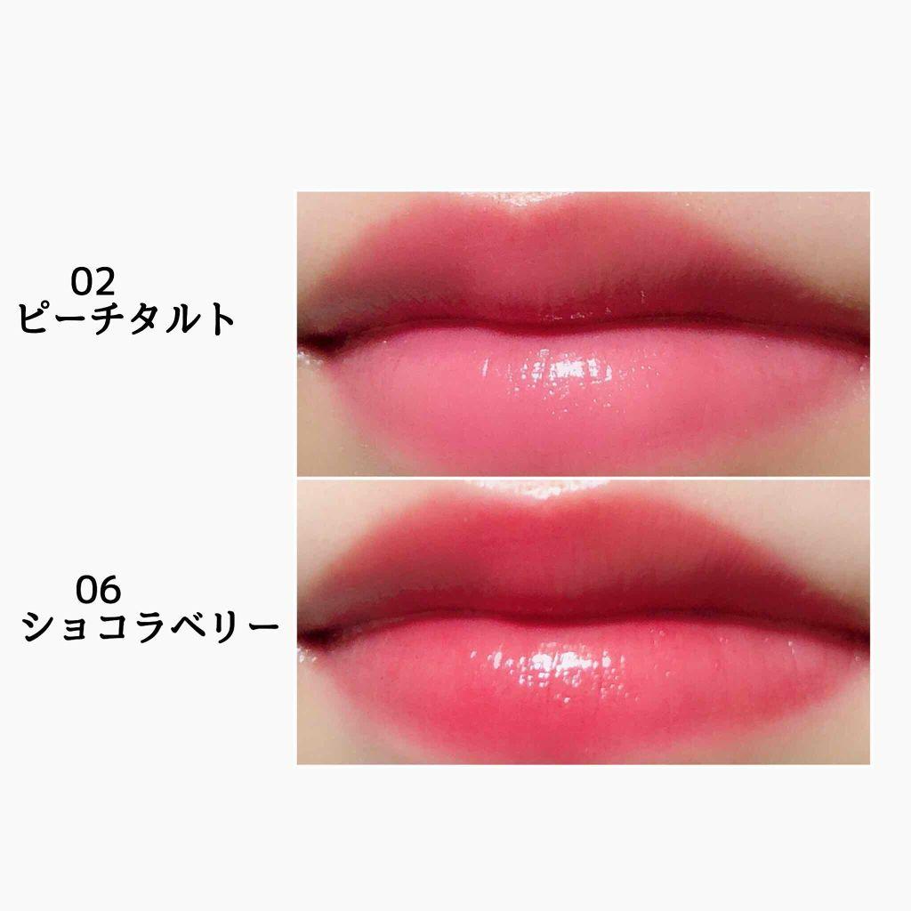 グレイズバームリップ/エクセル/口紅を使ったクチコミ(3枚目)