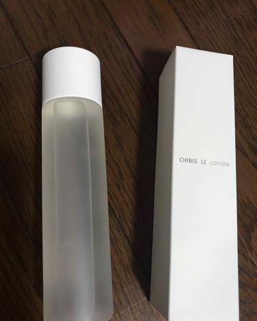 オルビスユーローション/ORBIS/化粧水を使ったクチコミ(1枚目)