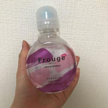 Frouge(フルージュ)/Frouge/マウスウォッシュ・スプレーを使ったクチコミ(3枚目)