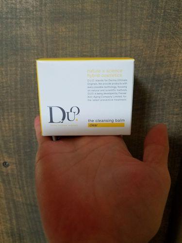 ☪七香.さんの「D.U.O.ザ クレンジングバーム クリア<マッサージ料>」を含むクチコミ
