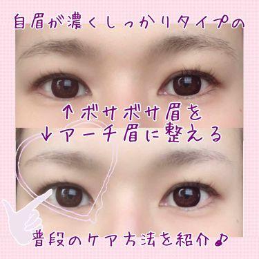 クシ付きマユハサミ/貝印/その他化粧小物を使ったクチコミ(1枚目)