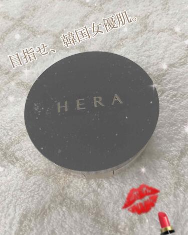 HERA Black Cushion/HERA/クッションファンデーションを使ったクチコミ(1枚目)
