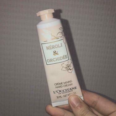 オーキデ プレミアムハンドクリーム/L'OCCITANE/ハンドクリーム・ケアを使ったクチコミ(1枚目)